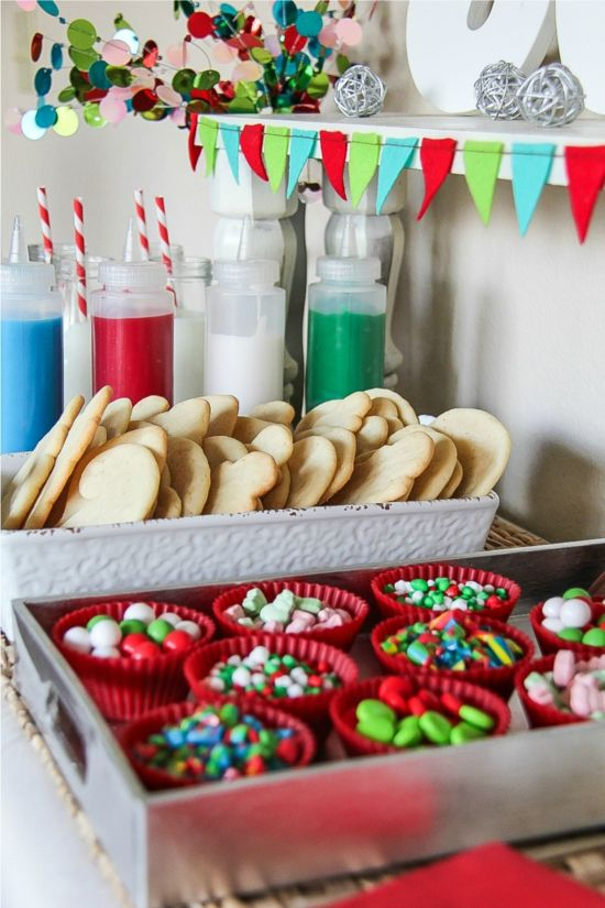 Holiday Cookie Decorating with Kids