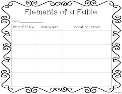 https://www.teacherspayteachers.com/Product/FREEBIE-Elements-of-a-Fable-2-Graphic-Organizers-800008